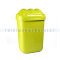 Schwingdeckeleimer Fala aus Kunststoff 30 L, grün