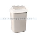 Schwingdeckeleimer Fala aus Kunststoff 50 L, cappuccino