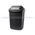 Schwingdeckeleimer Standard aus Kunststoff 30 L, graphit