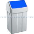 Schwingdeckeleimer TTS blau 50 L