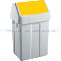 Schwingdeckeleimer TTS gelb 25 L
