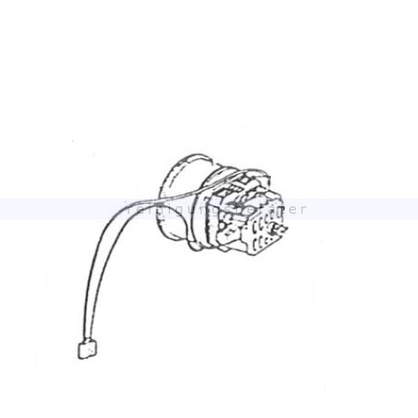 Sebo 1623 Gebläsemotor 230 V RSX 1 Ersatzteil Sebo Gebläsemotor