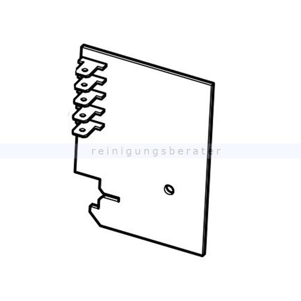 Sebo 7105ER Leiterplatte Typ 1 Filtergehäuse Dart 1 und Dart 2 Ersatzteil für Sebo Dart 1 und Dart 2, für Filtergehäuse