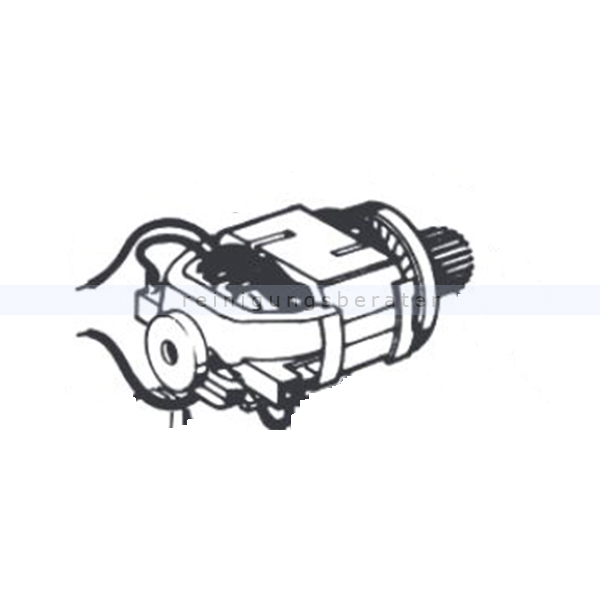 Sebo 3047ER Motor für Duo Bürstmaschine Ersatzteil Sebo Bürstenmotor