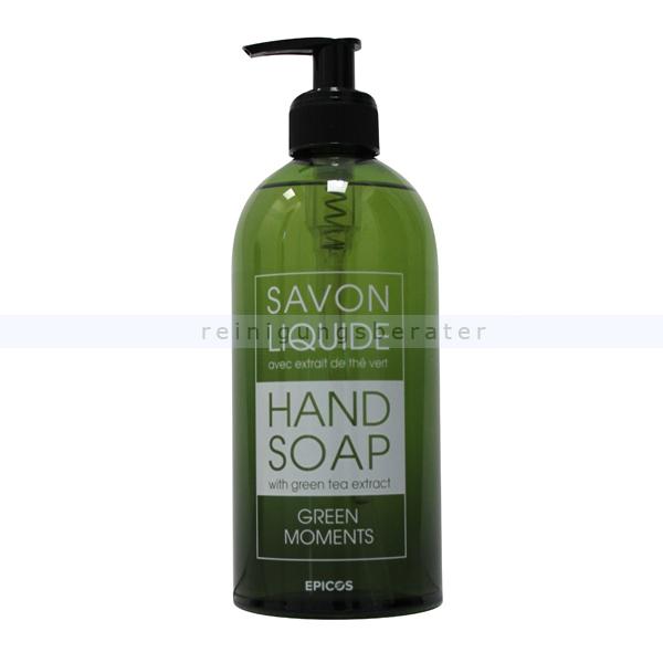 ReinigungsBerater EPISAN Savon Liquide Green Moments 500 ml Flüssigseife Liquide Seife mit angenehmer Duftnote 601657/006