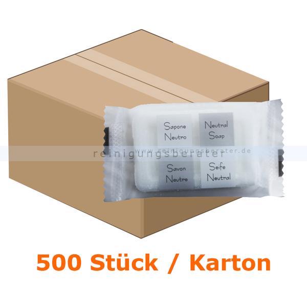 ReinigungsBerater Seife Gästeseife Stückseife 12 g 500 Stück/Karton ADRESF015