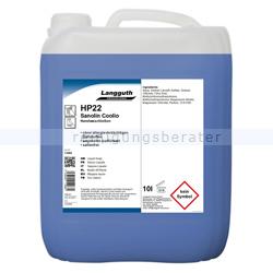 Seife Sanolin Coolio HP22 Waschlotion blau 10 L