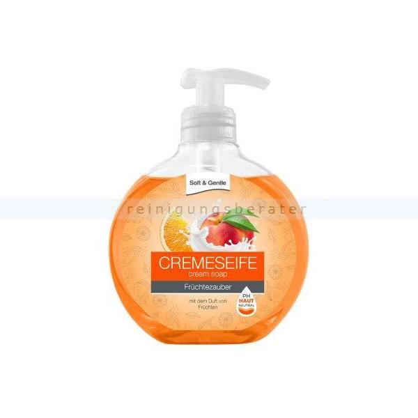 Seife Soft & Gentle Cremeseife Früchtezauber 500 ml