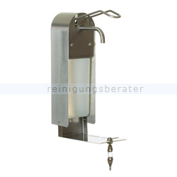 Seifenspender Impeco Ellenbogen Spender Edelstahl 1 L