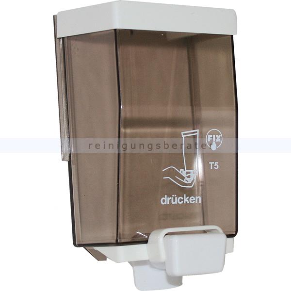 Seifenspender JM Metzger Fix 750 ml nachfüllbarer Seifenspender mit Wandhalterung SD137