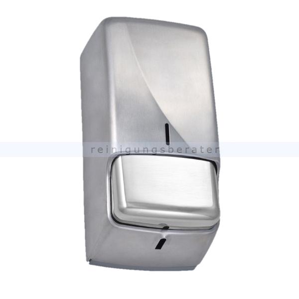 Seifenspender JM Metzger Jofel Futura 850 ml zur Kannenbefüllung, abschließbar, Edelstahl Seifenspender AC53051