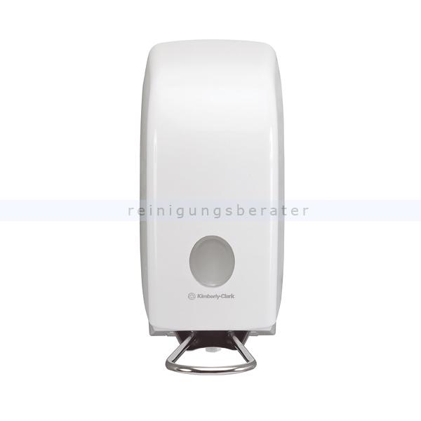 Seifenspender Kimberly Clark AQUARIUS Kassette 1 L Weiß