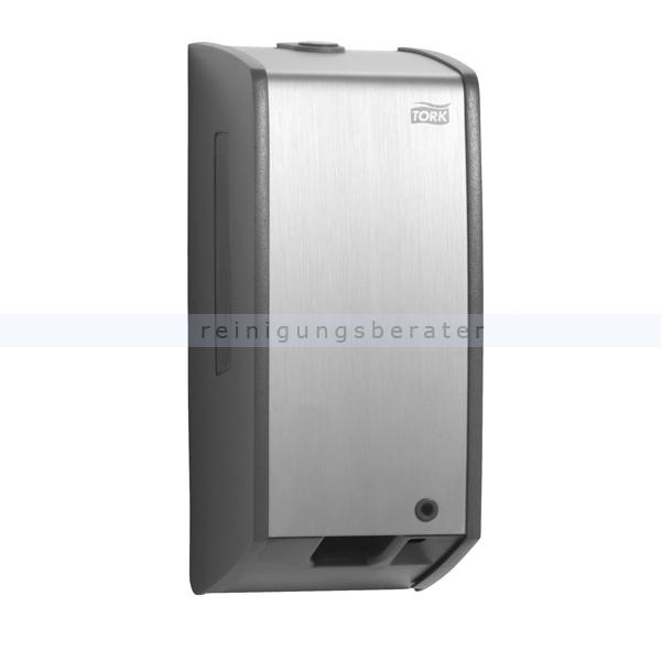 SCA Tork 453000 Sensor Seifenspender für Schaumseife, silber berührungsloser Schaumseifenspender S3 System