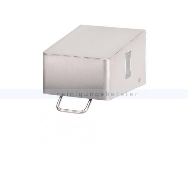 Seifenspender SanTRAL mit Druckhebel 0,7 L Edelstahl