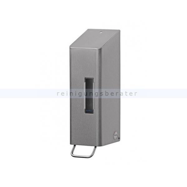 All Care Seifenspender SanTRAL Seifenspender 1 L Edelstahl Seifenspender für Wandmontage für Euroflaschen mit C-Adapter 2110753 AFP-C