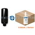Seifenspender Set S4 Schaumseifenspender schwarz, 6x1l Seife