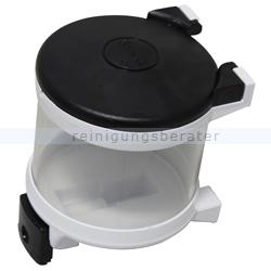 Seifenspender Simex Basic Kunststoff schwarz/transparent 1 L