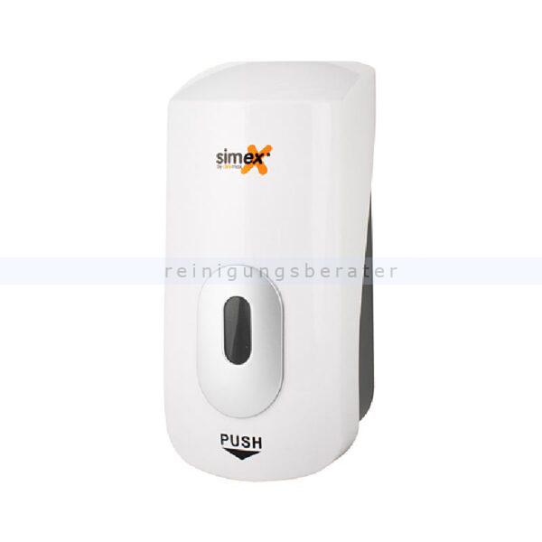 Seifenspender Simex Elegance ABS weiß 1 L