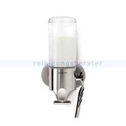 Seifenspender Simplehuman mit Wandhalterung einfach 444 ml