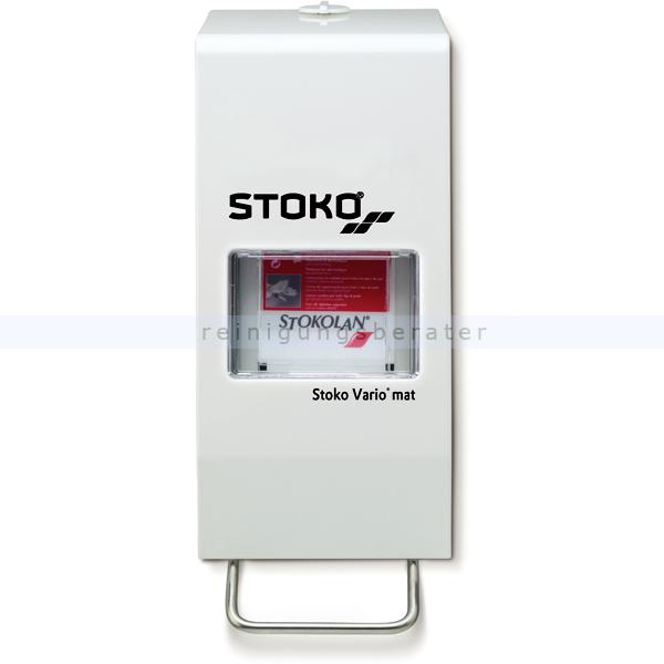 Stoko Vario Mat für 1-2 L Seifenspender, 89741 für 1000/2000 ml Softflaschen mit Ventil PN89741X10