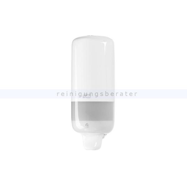 SCA Tork 560000 Seifenspender für Flüssigseife weiß Zuverlässiges und tropffreies System für optimale Hygiene