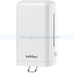 Seifenspender Wepa Satino Schaumseifen Spender weiß 1 l