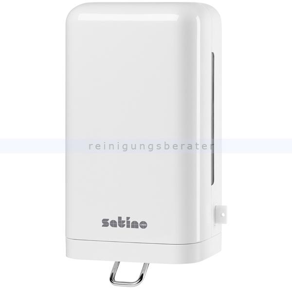 Seifenspender Wepa Satino Schaumseifen Spender weiß 1 l manueller Schaumseifen-/Seifenspender 331100