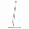 Seilzugleiter Hymer 2 teilig Strangpressprofil 2x18 Sprossen