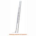 Seilzugleiter Hymer 3 teilig Strangpressprofil 3x18 Sprossen