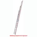 Seilzugleiter Hymer dreiteilig Walzprofil 3x14 Sprossen
