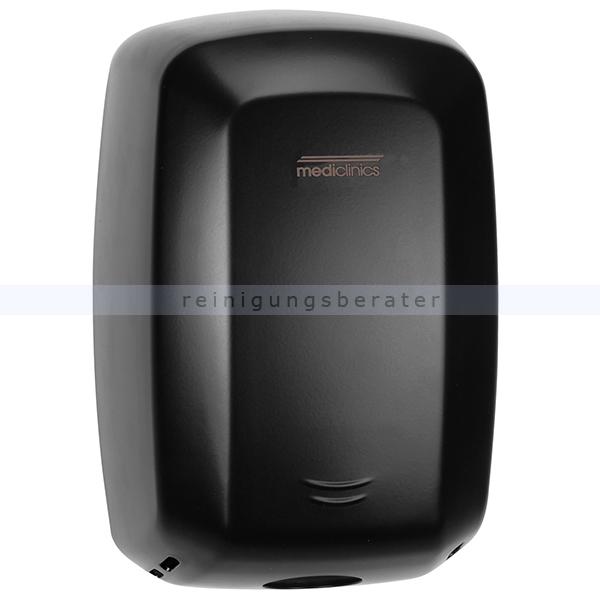 Sensor Händetrockner All Care Machflow Stahl schwarz 1150 W