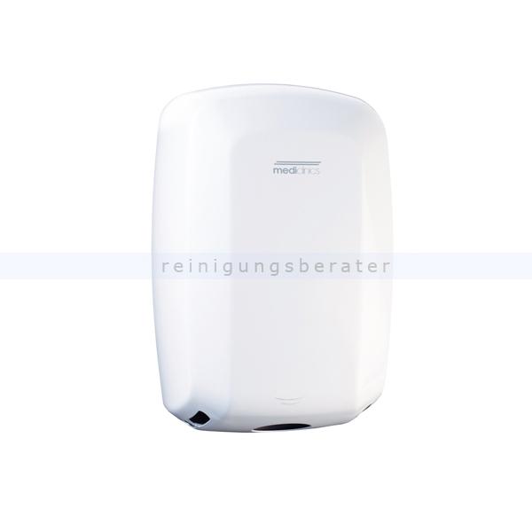 Sensor Händetrockner All Care Machflow Stahl weiß 1150 W 1150 W, Trocknungszeit 8-15 Sekunden 12380