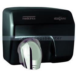 Sensor Händetrockner All Care Saniflow Stahl schwarz 2250 W