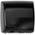 Zusatzbild Sensor Händetrockner All Care Speedflow Stahl schwarz 1150 W