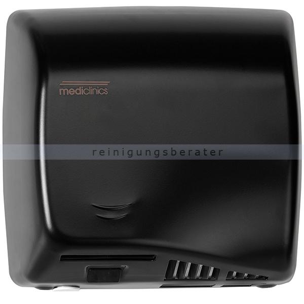 Sensor Händetrockner All Care Speedflow Stahl schwarz 1150 W