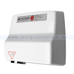 Sensor Händetrockner Dan Dryer Typ AE Aluminium weiß 2360 W