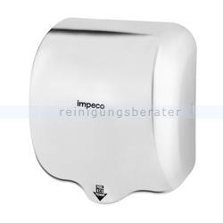 Sensor Händetrockner Impeco Streamflow Stahl glänzend 1800 W