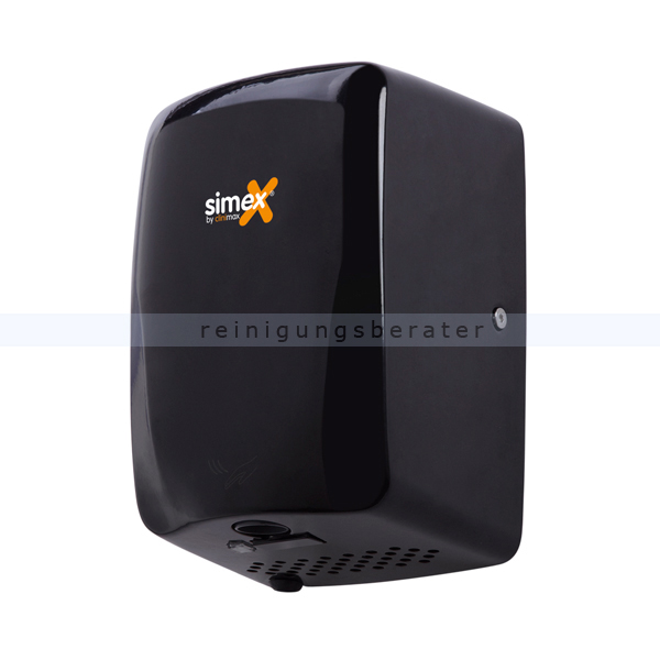 Sensor Händetrockner Simex Hitflow Edelstahl schwarz 1150 W