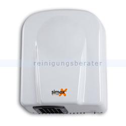 Sensor Händetrockner Simex Medium Jet Edelstahl weiß 1650 W