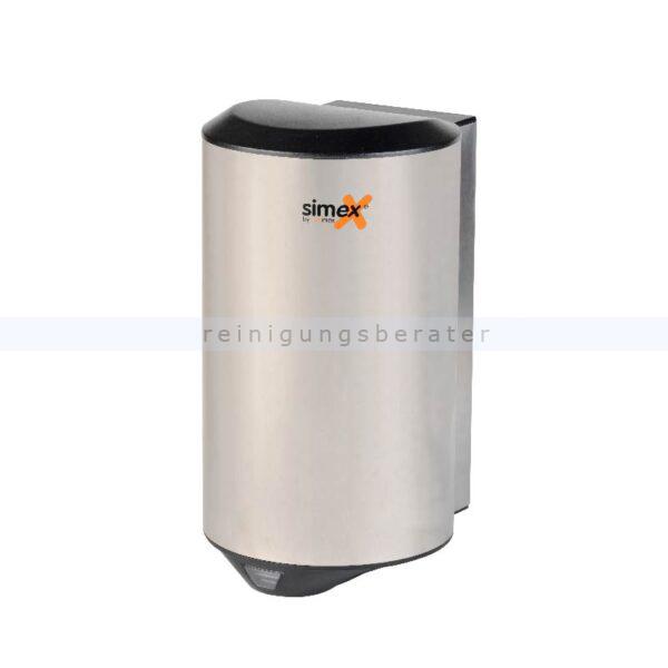 Sensor Händetrockner Simex Quickflow Edelstahl satiniert 1150 W