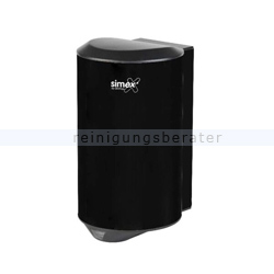 Sensor Händetrockner Simex Quickflow Edelstahl schwarz 1150