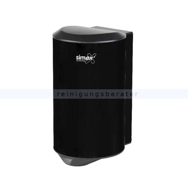 Sensor Händetrockner Simex Quickflow Edelstahl schwarz 1150 W