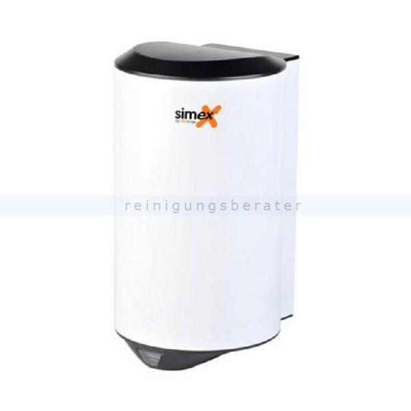 Sensor Händetrockner Simex Quickflow Edelstahl weiß 1150 W
