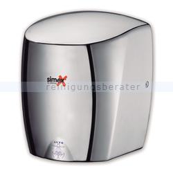 Sensor Händetrockner Simex Stormflow Aluminium poliert 900 W