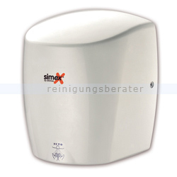 Sensor Händetrockner Simex Stormflow Aluminium weiß 900 W