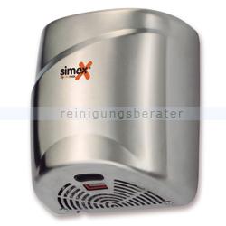 Sensor Händetrockner Simex Topflow Edelstahl satiniert 1800 W