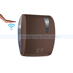 Sensor Handtuchspender, ADVAN, braun