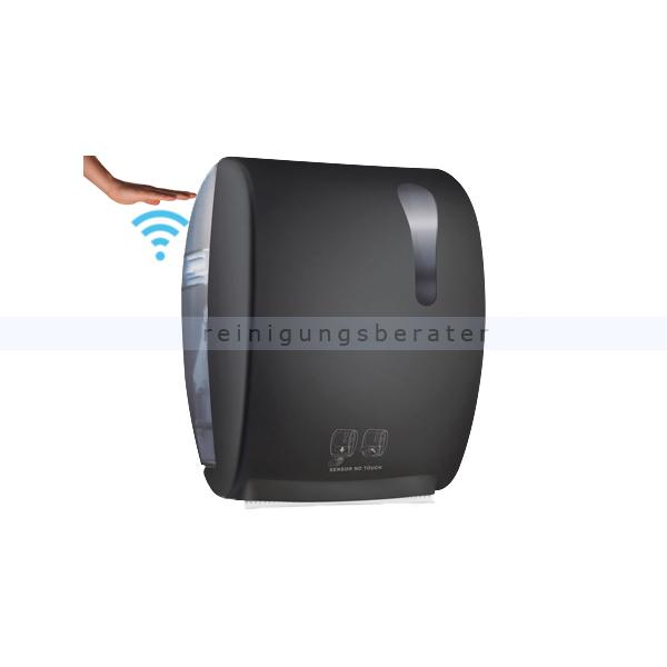 Sensor Handtuchspender, ADVAN, Schwarz