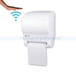 Sensor Handtuchspender AutoCut-Spender Tear-N-Dry weiß