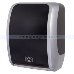 Sensor Handtuchspender Cosmos silber/schwarz
